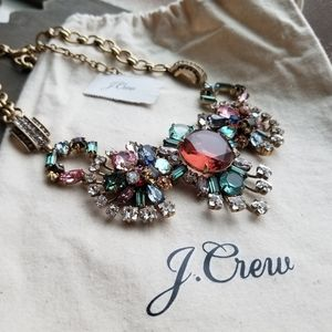 J.Crew NWT Star Burst Statement Necklace